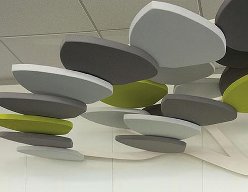Gamme créativité : l'arbre acoustique, panneaux acoustiques