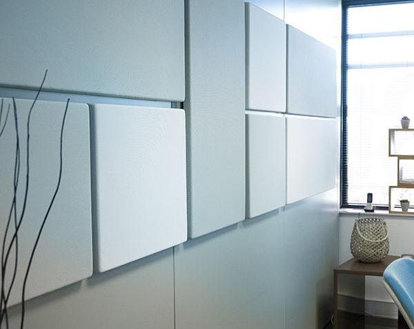 Solutions acoustiques, composition murale panneaux acoustiques