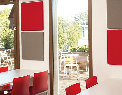 Gamme tranquillité : des solutions acoustiques murales, panneaux acoustiques muraux