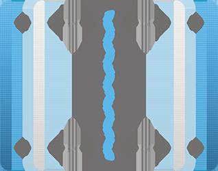 Une technologie unique et brevetée : ressorts et dispositif auto adaptatif
